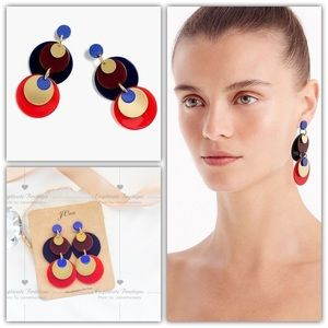J.Crew Mixed-media Statement Earrings
